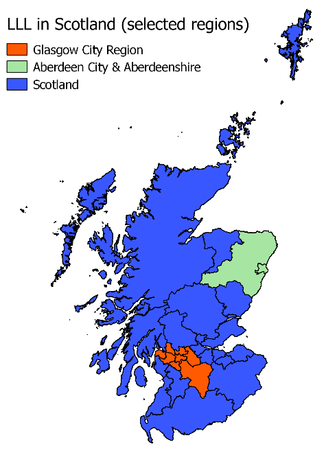 Young ADULLLT Scotland map